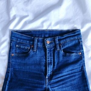Levi's Jeans - Mile High Slim Cropped Jeans